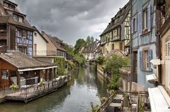 Little Venice. Colmar, France Stock Photos