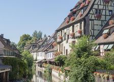 Little Venice in Colmar Stock Photography