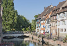 Little Venice in Colmar Stock Photos