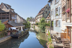 Little Venice in Colmar Stock Images