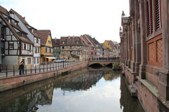 The little Venice in Colmar Town, France Stock Photo