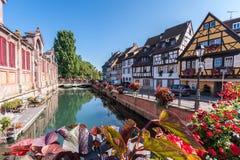 Little Venice in Colmar Stock Photo