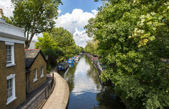 Little Venice in London Stock Photos