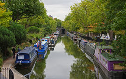 Little Venice in London Stock Photography