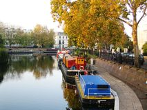 Little Venice in London Royalty Free Stock Photos