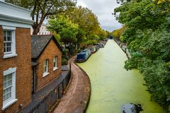 Little Venice of London stock images