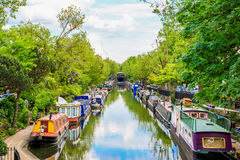 Little Venice in London Royalty Free Stock Photo