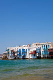 Little Venice, Mykonos, Greece Royalty Free Stock Photos