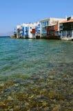 Little Venice in Mykonos, Greece Stock Photography