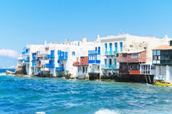 Little Venice in Mykonos, Greece. Stock Photography