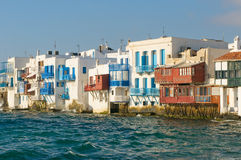 Little Venice, Mykonos Island, Greece Royalty Free Stock Photography