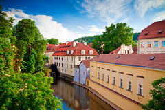 Little Venice In Prague Stock Images