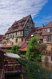 Little Venice quarter in Colmar of Alsace of France Stock Images