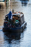 Little Venice is a very singular place in London along Regent`s Royalty Free Stock Photo