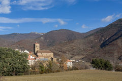 Little village. Embún is a little village in the spanish pyrenees Royalty Free Stock Photography
