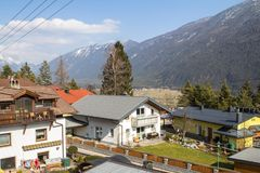 Little village in the Alps. Austria Royalty Free Stock Photos