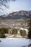 Little village in the Alps. Austria Royalty Free Stock Photo
