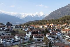Little village in the Alps. Austria Royalty Free Stock Photography