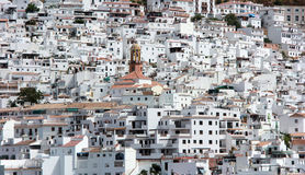 Little Village in Andalusia Royalty Free Stock Photos