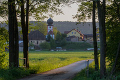 Little village in Bavaria Royalty Free Stock Photos