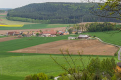Little village in Bavaria Stock Image