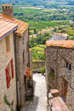 Little village of Eus, one of the most beautiful villages of France Royalty Free Stock Images