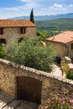 Little village of Eus, one of the most beautiful villages of France Royalty Free Stock Image