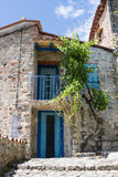 Little village of Eus, one of the most beautiful villages of France Stock Photos