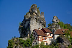 A little village in Franc Royalty Free Stock Photography