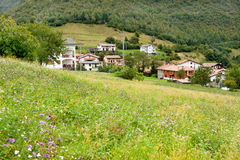 Little village in the Italian Lombardy Royalty Free Stock Photography