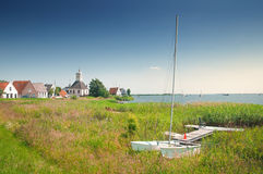 Little village near Amsterdam, Netherlands Royalty Free Stock Image