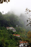 Little village near Pico do Areeiro, Madeira island, Portugal Royalty Free Stock Photography