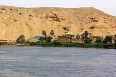 Little village Nile Royalty Free Stock Image