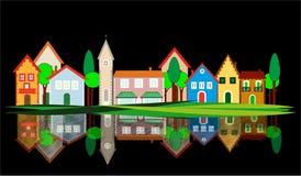 Little village Stock Images