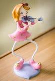 Little violinist Stock Images