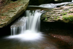 Little Watefall. Rickett's Glen State Park, PA Royalty Free Stock Photography