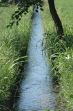 Little water canal Royalty Free Stock Image