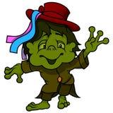 Little Water Goblin Royalty Free Stock Photos
