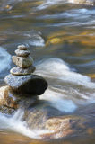 Little Watercourses With Rocks Stock Photos