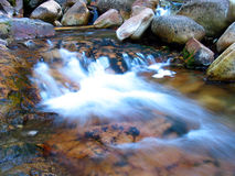 Little waterfall Stock Image