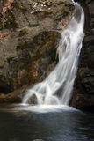 Little waterfall. A little waterfall.. in the earth of Tuscany Royalty Free Stock Image