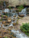 Little waterfall Royalty Free Stock Image