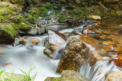 Little waterfall. Royalty Free Stock Photography