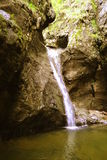 Little waterfall Royalty Free Stock Photography