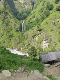 Little waterfall in Nepal Royalty Free Stock Photos