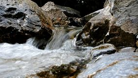 Little waterfall stock video
