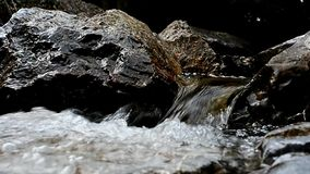Little waterfall stock footage