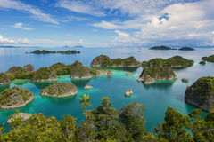 Little Wayag, Raja Ampat Royalty Free Stock Photography