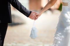 Little wedding bag Royalty Free Stock Photography