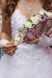 Little wedding bouquet Royalty Free Stock Image